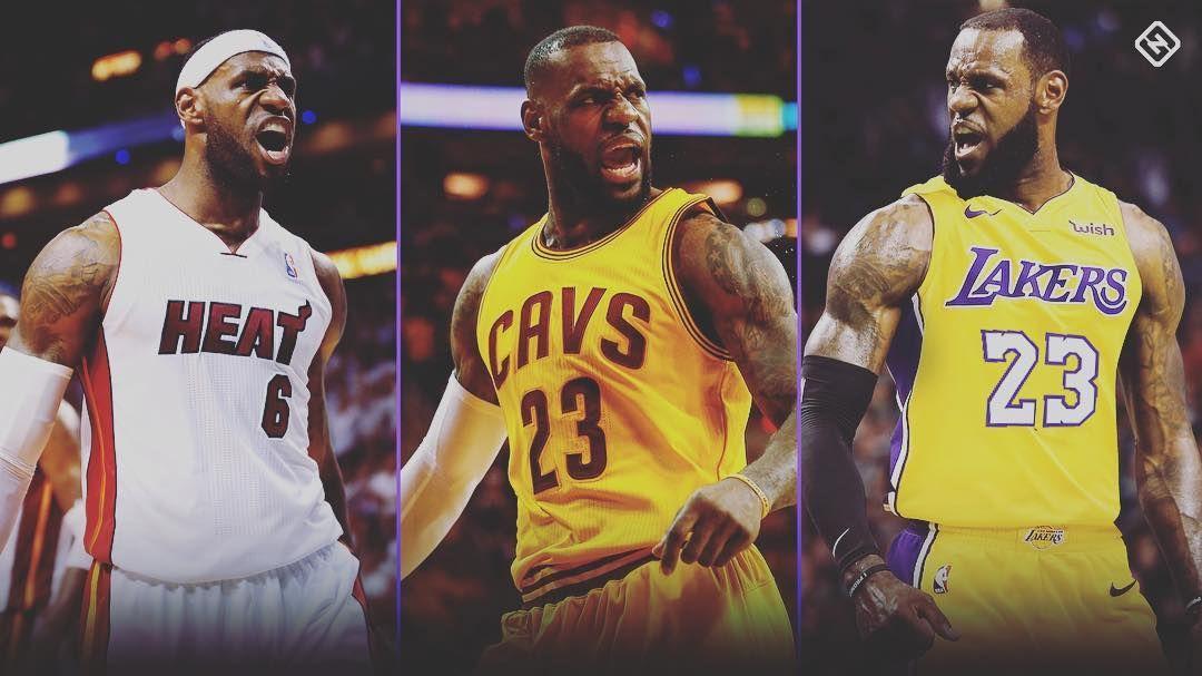 Which Lebron Are You Choosing Nba Nba2k19 Nbafreeagency Lebronjames Lebron Miamiheat Losangeleslaker Lebron James Heat Lebron James Lakers Lebron James