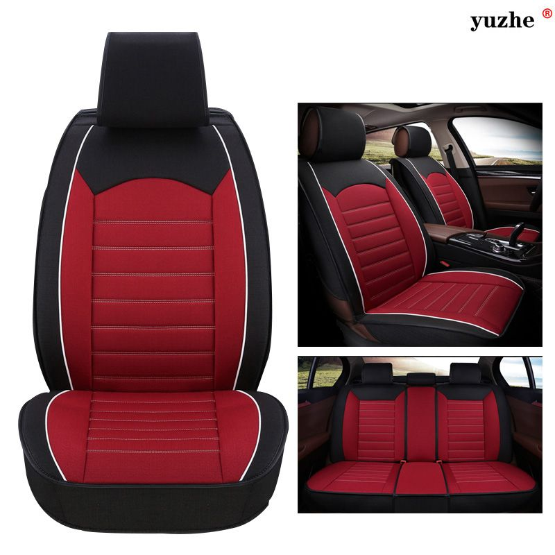 Yuzhe Linen Car Seat Cover For Mini One Cooper R50 R52 R53 R55 R56 R60 R61 Paceman Countryman Accessories Styling Cushion Car Seats Carseat Cover Honda Accord