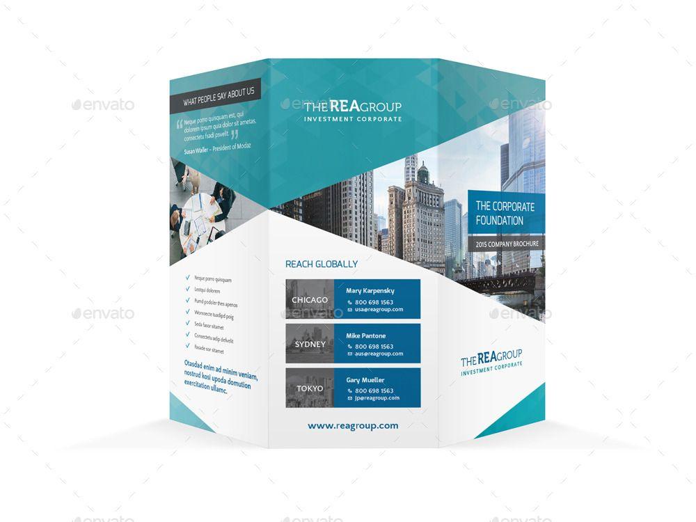 Corporate Trifold Brochure #Ad #Corporate, #Ad, #Trifold, #Brochure