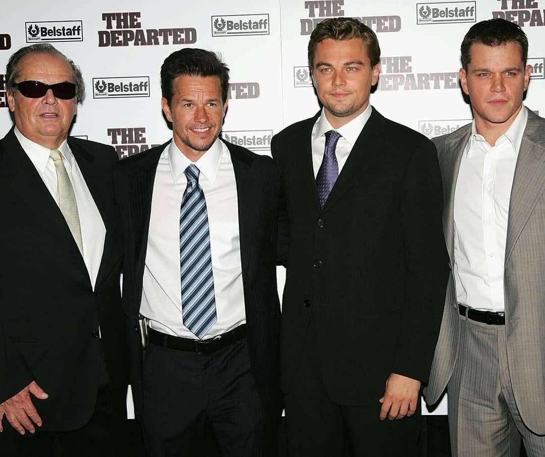 The Departed Martin Scorsese: Jack Nicholson, Mark Wahlberg, Leonardo DiCaprio & Matt