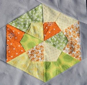 Hexagon Quilt Pattern Over 20 Free Patterns to Sew - | Free ... : hexagon quilt pattern free - Adamdwight.com