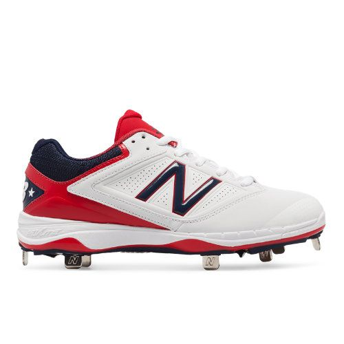 c57e81b9d0f Low-Cut 4040v1 4th of July Metal Cleat Women s Softball Shoes -  Red White Blue (SM4040A1)