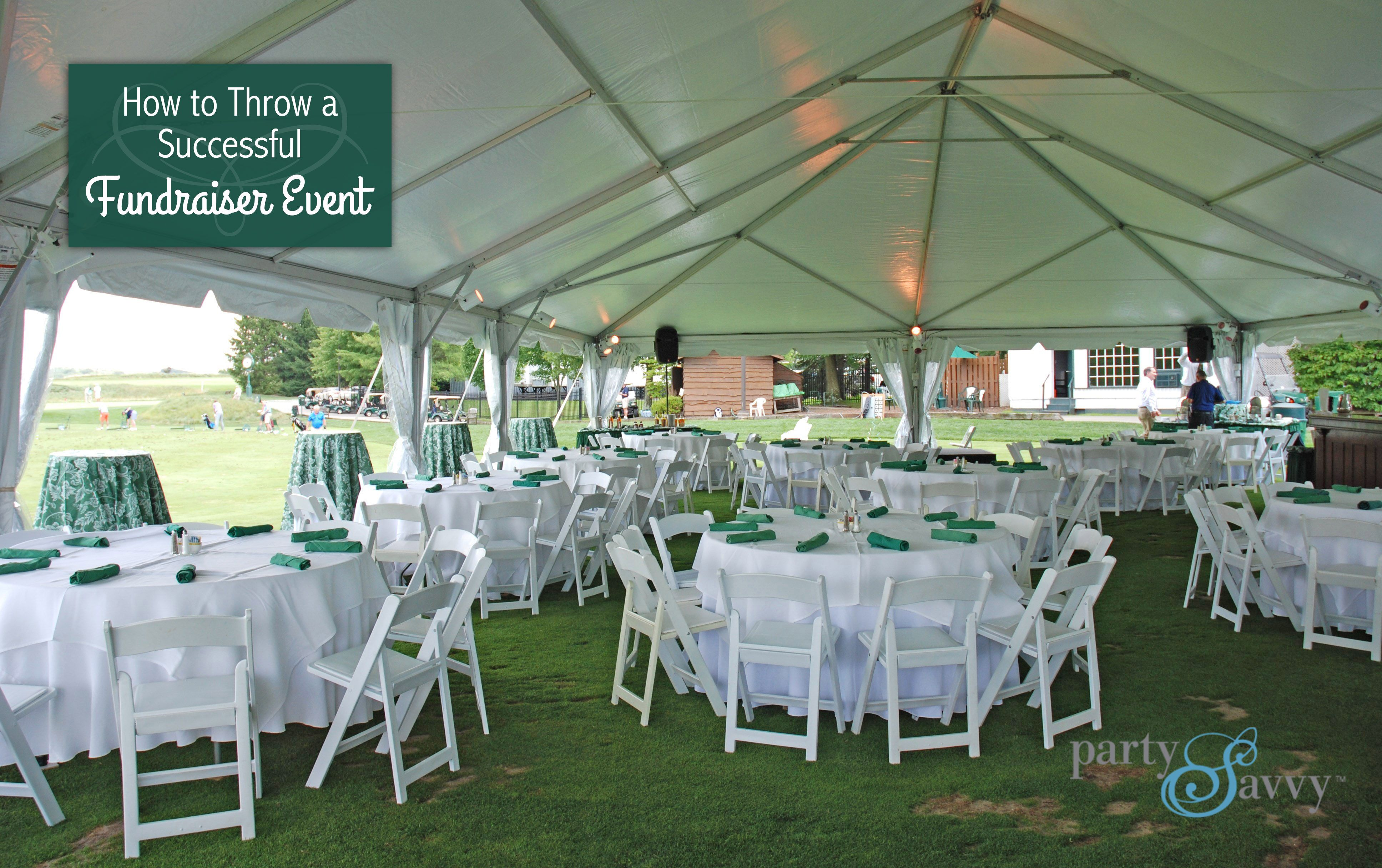 How to Throw a Successful Fundraiser Event | Successful ...