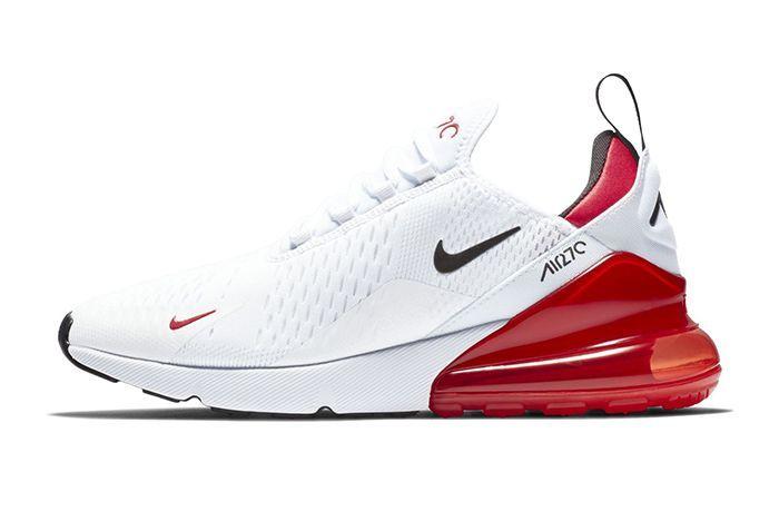the latest 8d875 df0c3 Idée et inspiration Sneakers Nike Image Description Nike Air Max 270 White  Black University Red 1