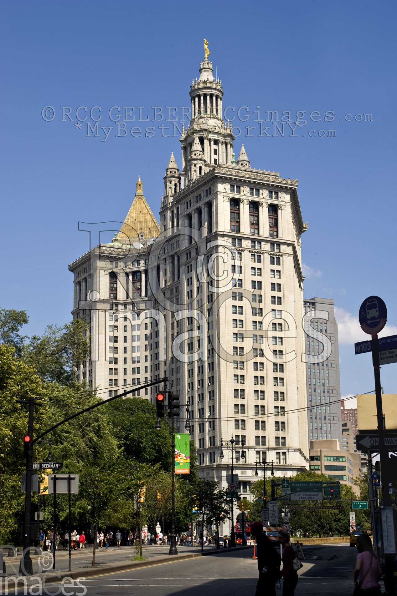 Famous Buildings In New York Manhattan Municipal