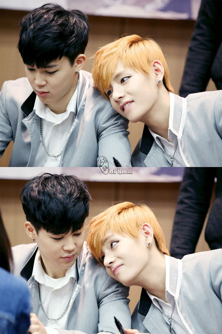 Jimin Is Minding His Own Business When He Feels Something On His
