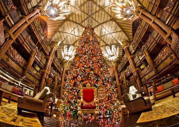 Christmas Decorations At Disney World Hotels : Disney world resort christmas decorations tour resorts