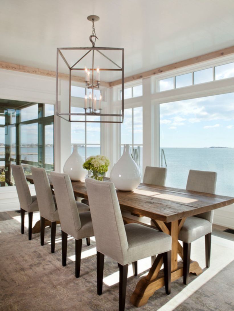 Nice And Functional Dining Table 8 Seater Modern Farmhouse