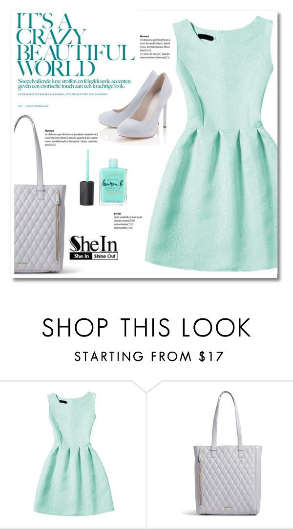 """She In, Shine Out: Aqua"" by montcastanon ❤ liked on Polyvore featuring Vera Bradley and Lipsy"