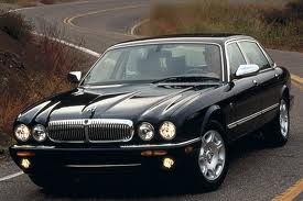 Jaguar XJ Series - Vanden Plas.  When Jaguar's designs were unlike no other.. now, they all look alike.