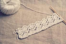 bordure tricot couverture - Recherche Google | Tricot dentelle, Tricot et Tricot et crochet
