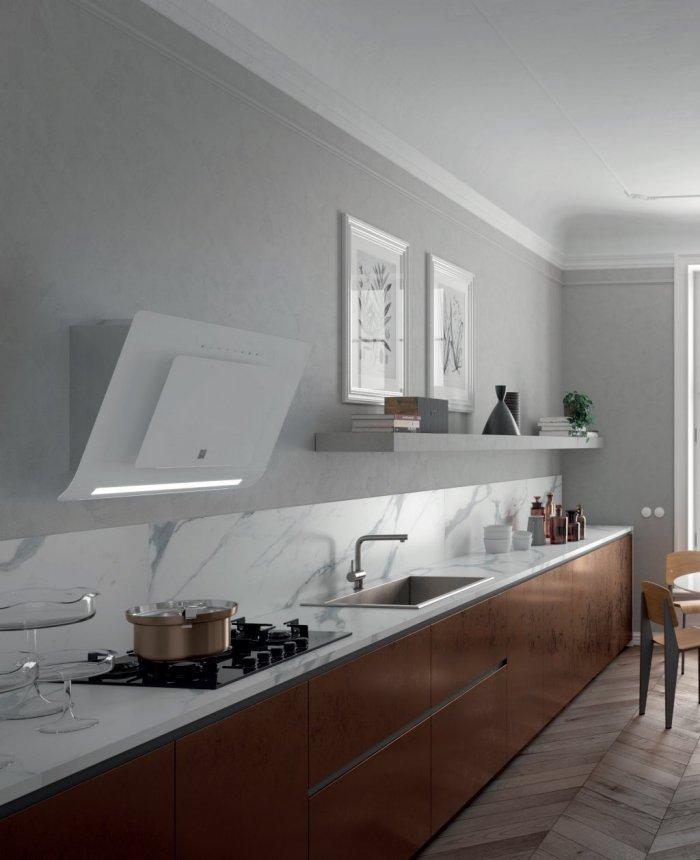 Epingle Par Orie Sur Cuisine En 2020 Hotte Design Hotte Murale