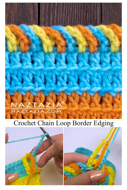 Photo of Crochet Chain Loop Border Edging