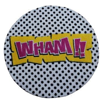 Rebel  WHAM  Round Rug | Kids Rugs |