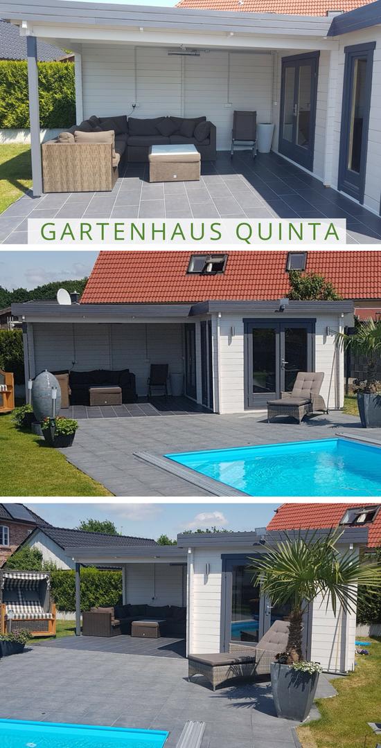 Gartenhaus Pool Das Gartenhaus Quinta sich perfekt