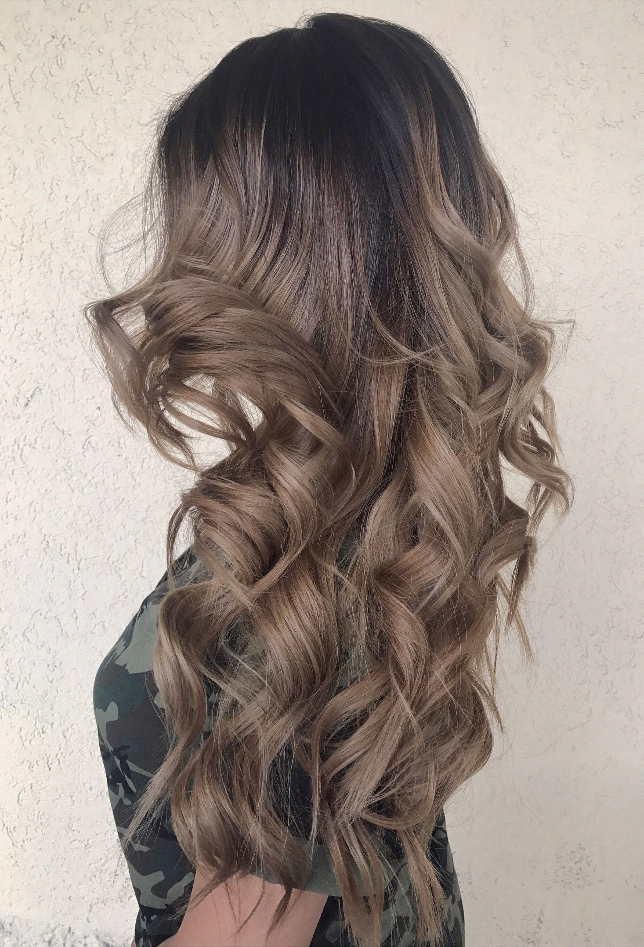 Haarfarbe iced brown