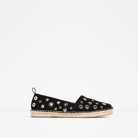 ZARA - WOMAN - RING DETAIL ESPADRILLES