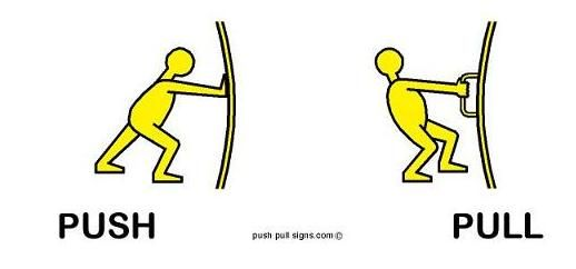 Pictogram Design for Push and Pull Signs for Doors  sc 1 st  Pinterest & Pictogram Design for Push and Pull Signs for Doors   НА СЕБЯ ОТ ...