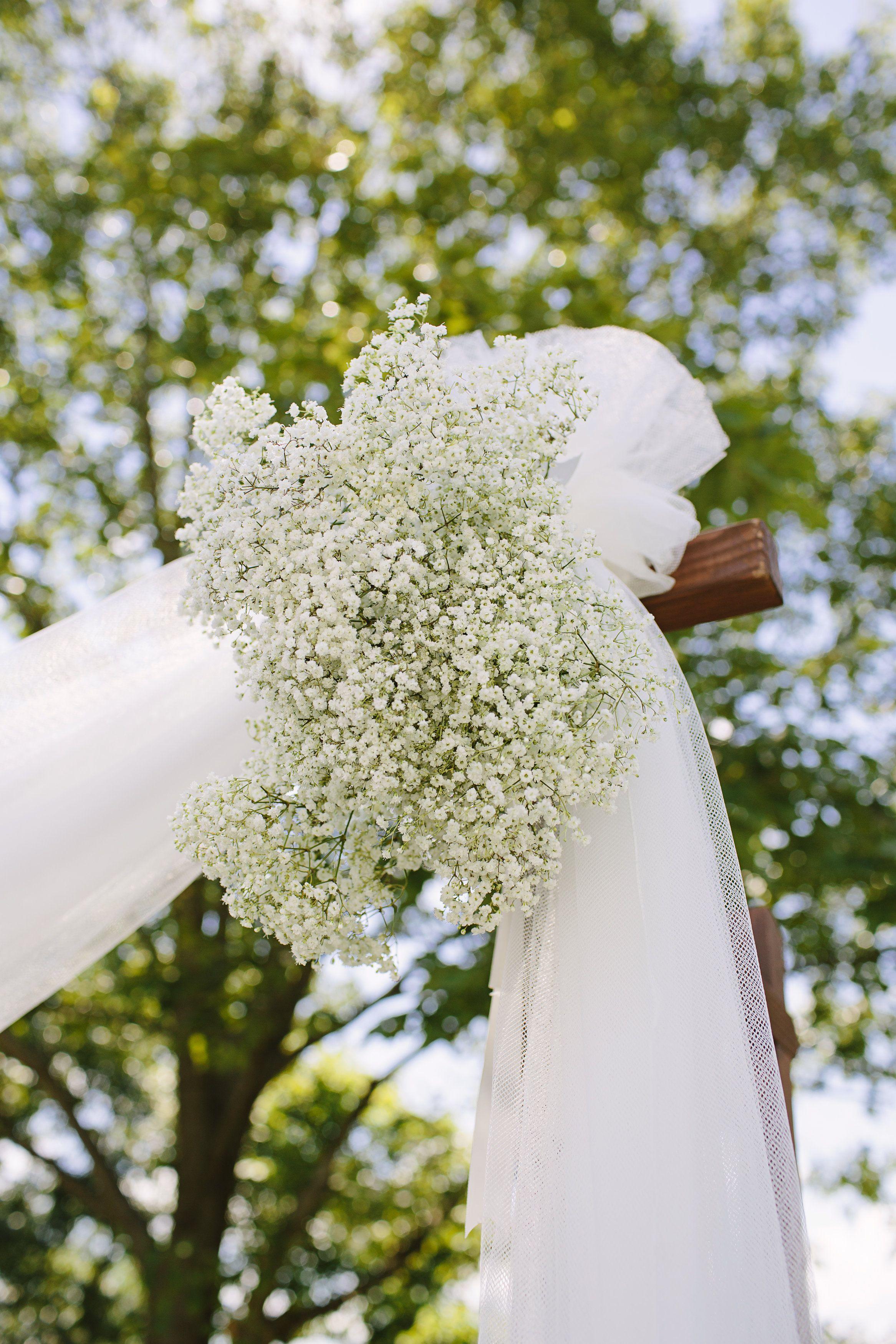 Babys Breath Wedding Details Pinterest Diy Wedding Arbors And