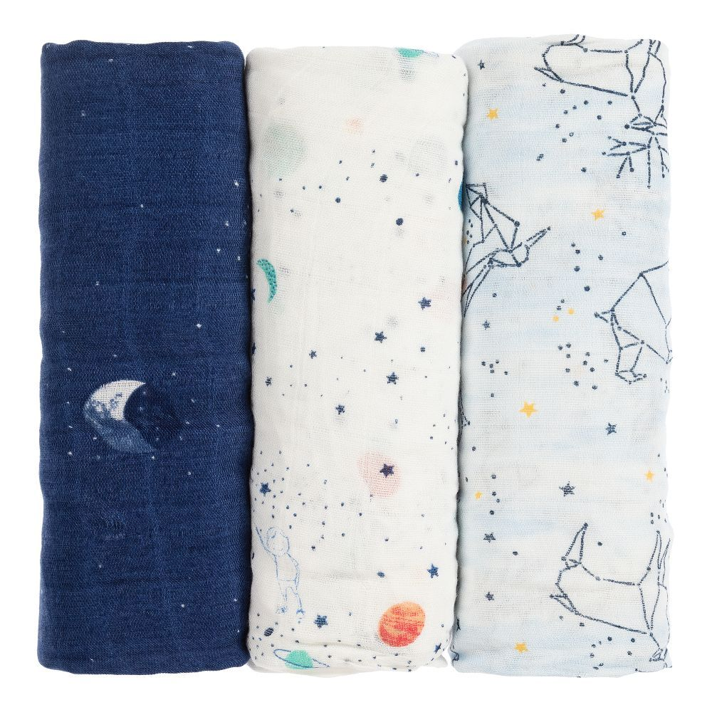Woodlands 3 Pack of Muslin Squares
