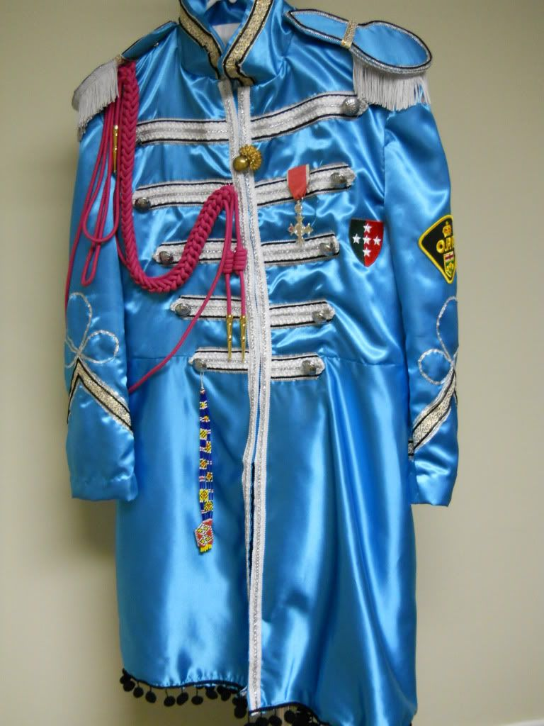My Version Of The Paul Sgt Pepper Suit Cellophane Flowers Inspired Costumes On Facebook Beatles Sgt Pepper Sgt Pepper Costumes
