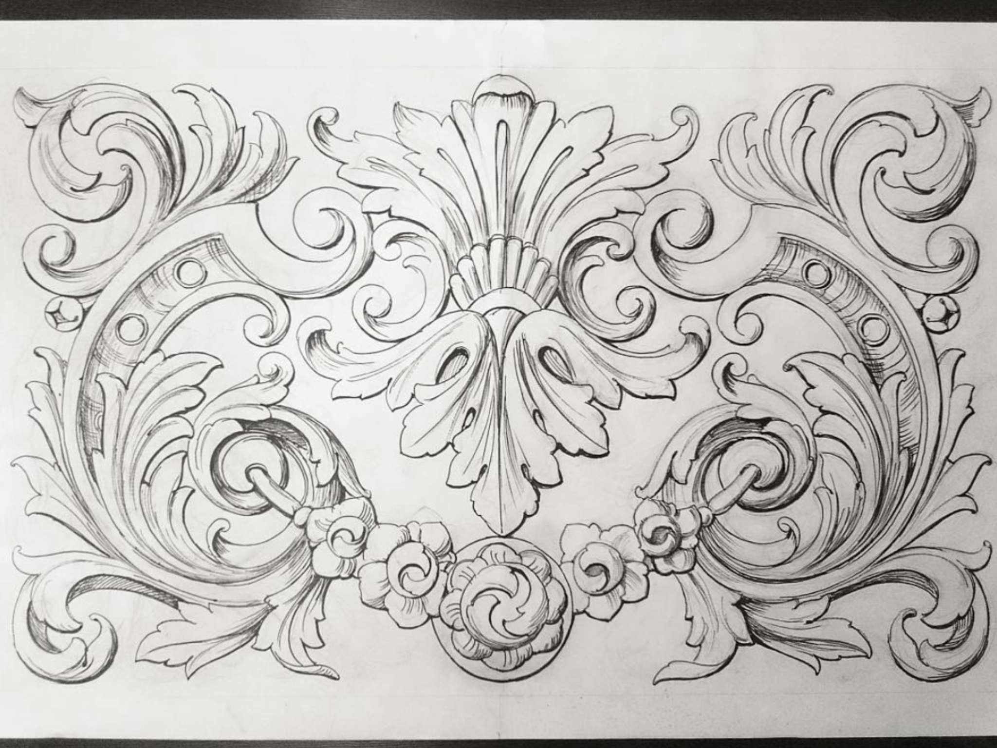 Pin By Kumar R On Ornament Ornament Drawing Wood Carving Patterns Carving Designs