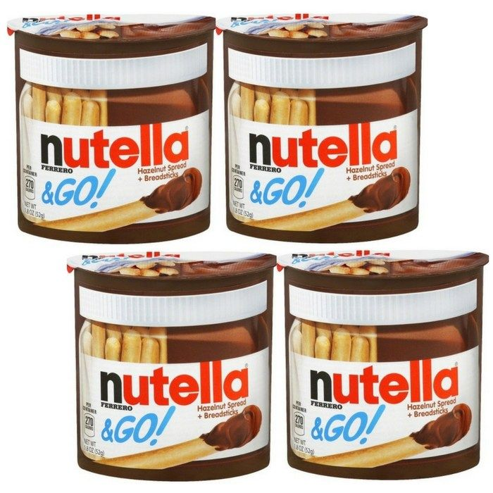 Nutella Go Single Packs Just 0 50 At Walmart Http Feeds