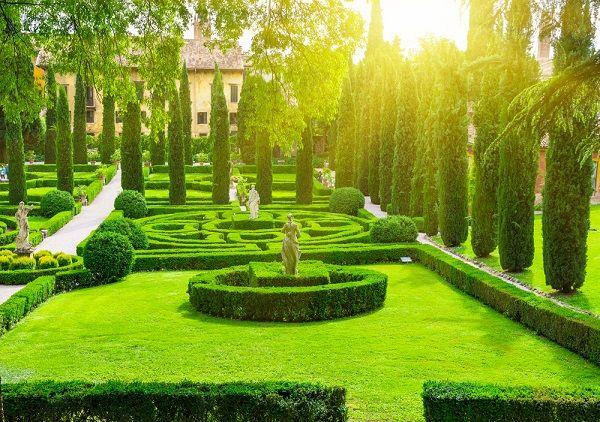 Giardino giusti verona paradise is very nice