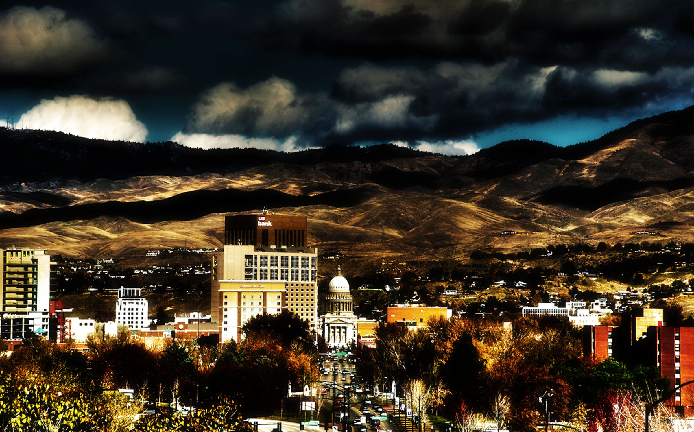 Downtown Boise, Idaho in winter | Boise, Idaho | Pinterest | Idaho ...