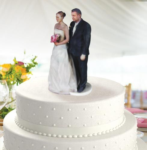 wedding cake toppers pinterest 3d printed wedding cake topper amp groom wedding 26581