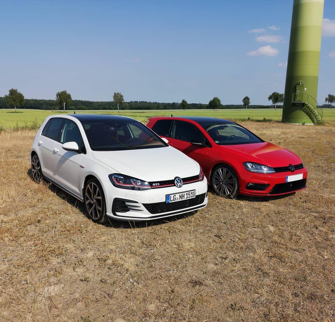 Altes Neues Baby Volkswagen De Volkswagen Vw Golf7 Mk7gti