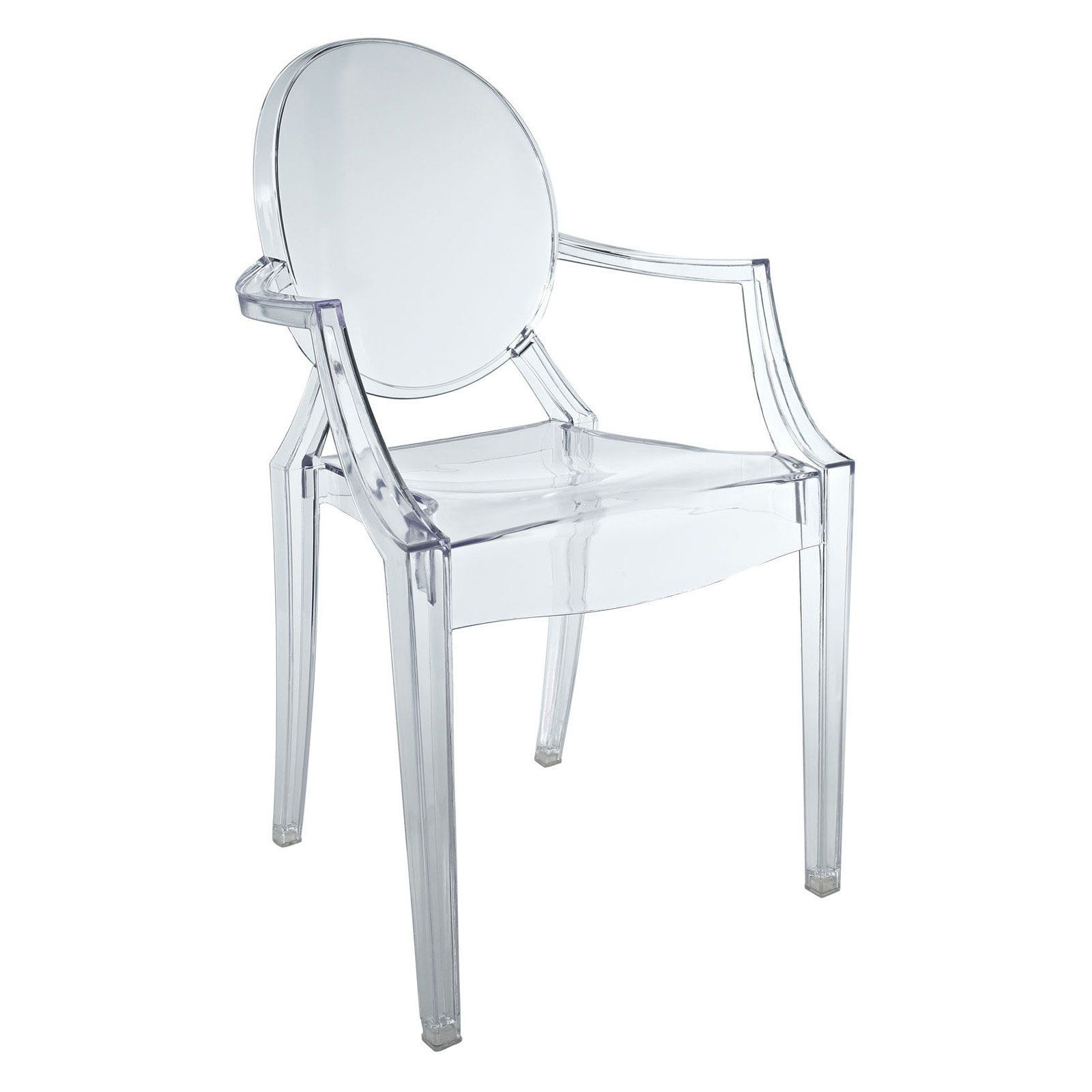 Lexmod Clear Casper Kids Chair | Table and chairs, Kid and Chairs