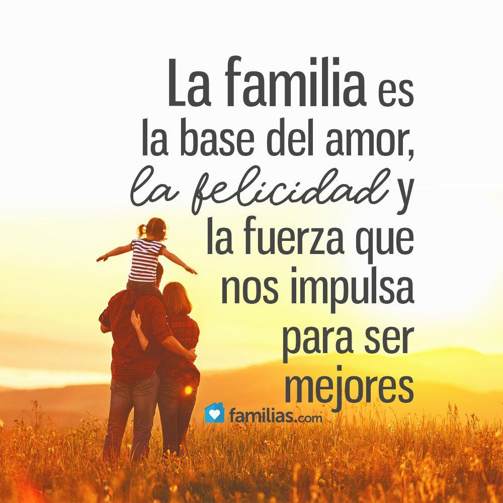 Yo amo a mi familia www.familias.com #amoamifamilia #matrimonio #sermamá  #bebé #hermanos #hijos #amor #famili… | Frases inspiradoras, Familia  frases, Familia quotes
