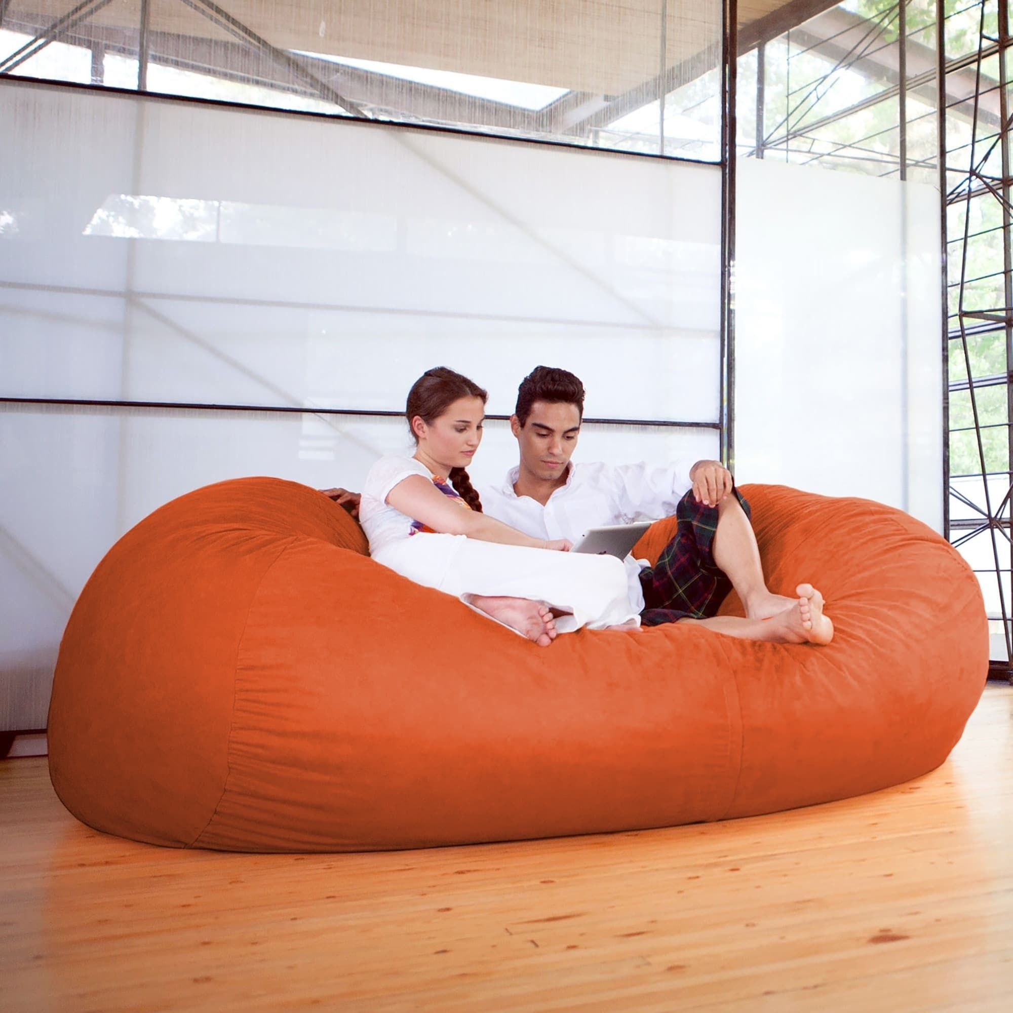 Superb Jaxx 7 Bean Bag Sofa Charcoal Black Jaxx Bean Bags Inzonedesignstudio Interior Chair Design Inzonedesignstudiocom