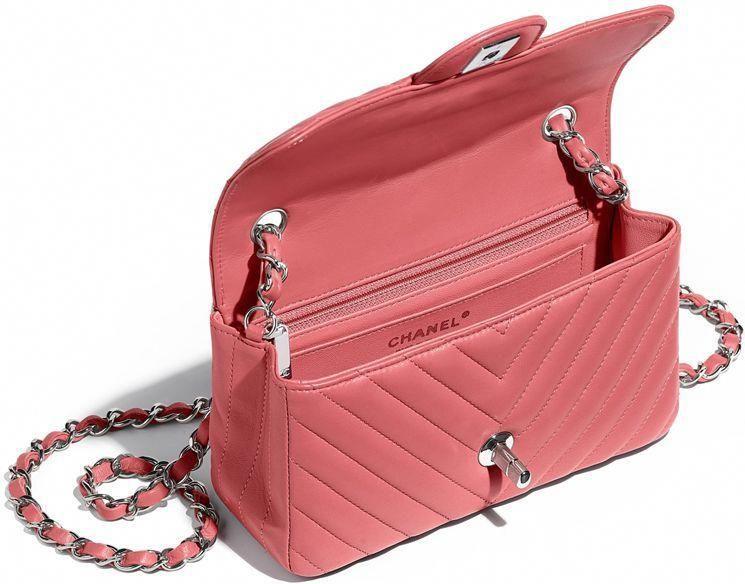 a1806ac487f chanel-extra-mini-classic-flap-bag-interior #Burberryhandbags ...