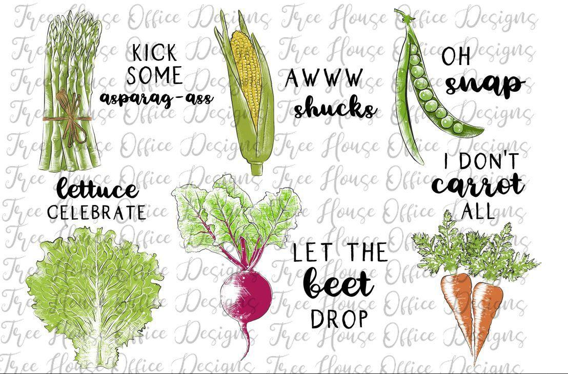 Funny Kitchen Vegetables Png Jpeg Kitchen Towel Decor Etsy Funny Vegetables Vegetable Puns Veggie Puns