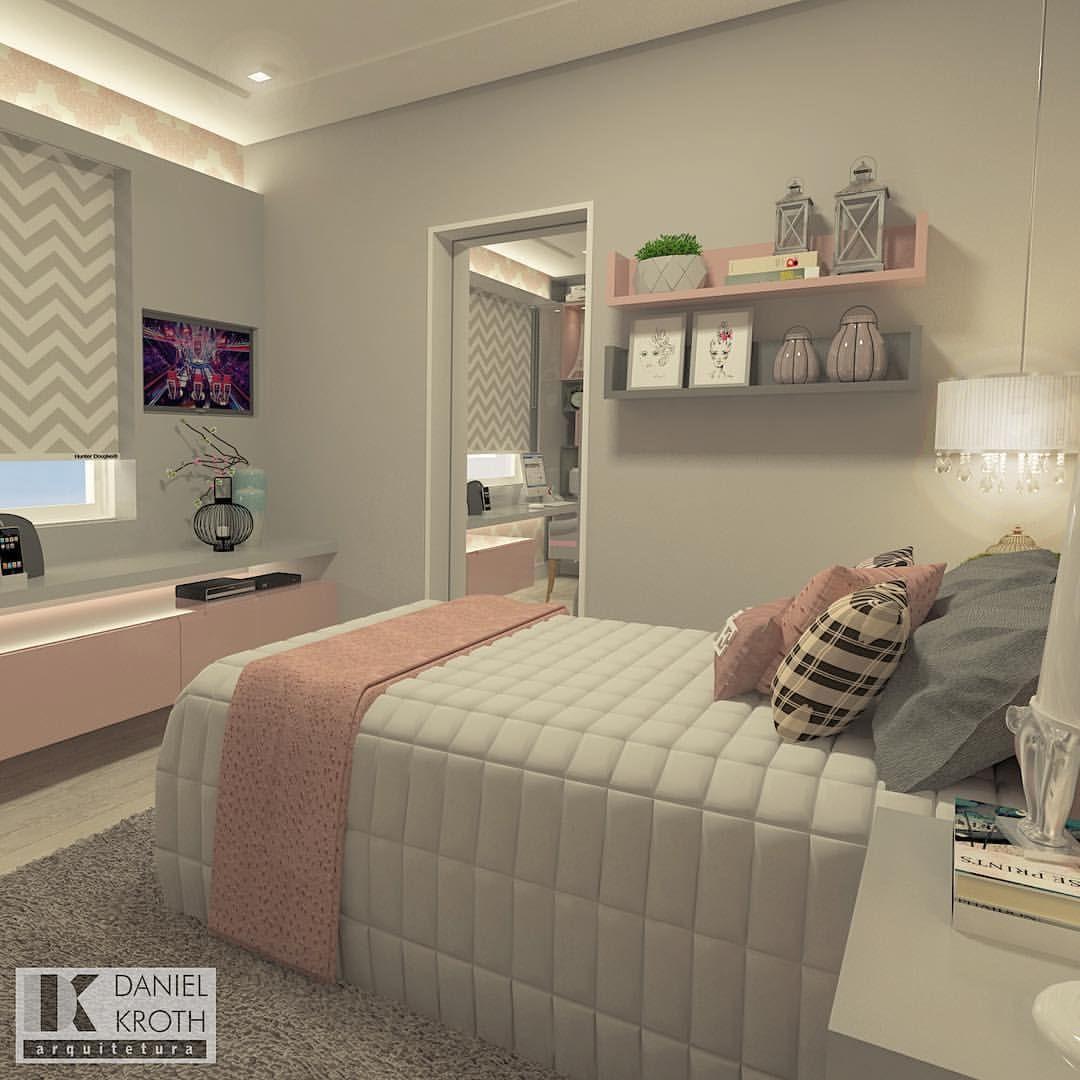 1 962 curtidas 34 coment rios daniel kroth arquitetura for Dormitorio para quarto pequeno