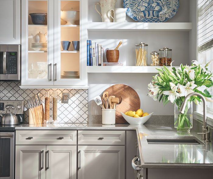 russell maple white and sterling floating shelves kitchen floating corner shelves floating on kitchen floating shelves id=61269