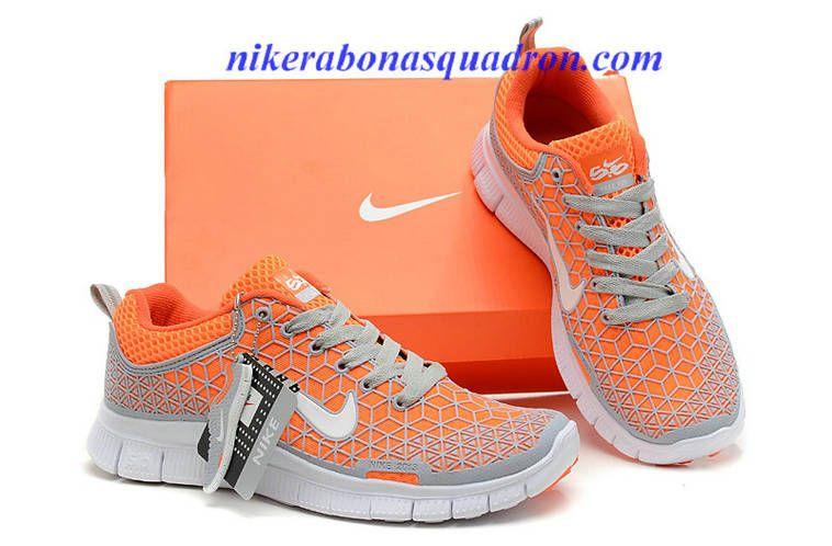 new styles cc26c e8b21 Nike Free 6.0 Womens Grey Orange Running Shoes