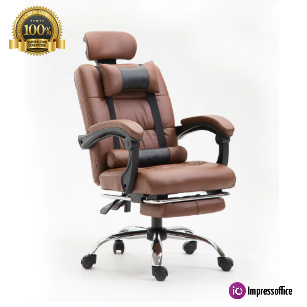 Remarkable Reclining Computer Chair Footrest Ecological Net Fabric Machost Co Dining Chair Design Ideas Machostcouk