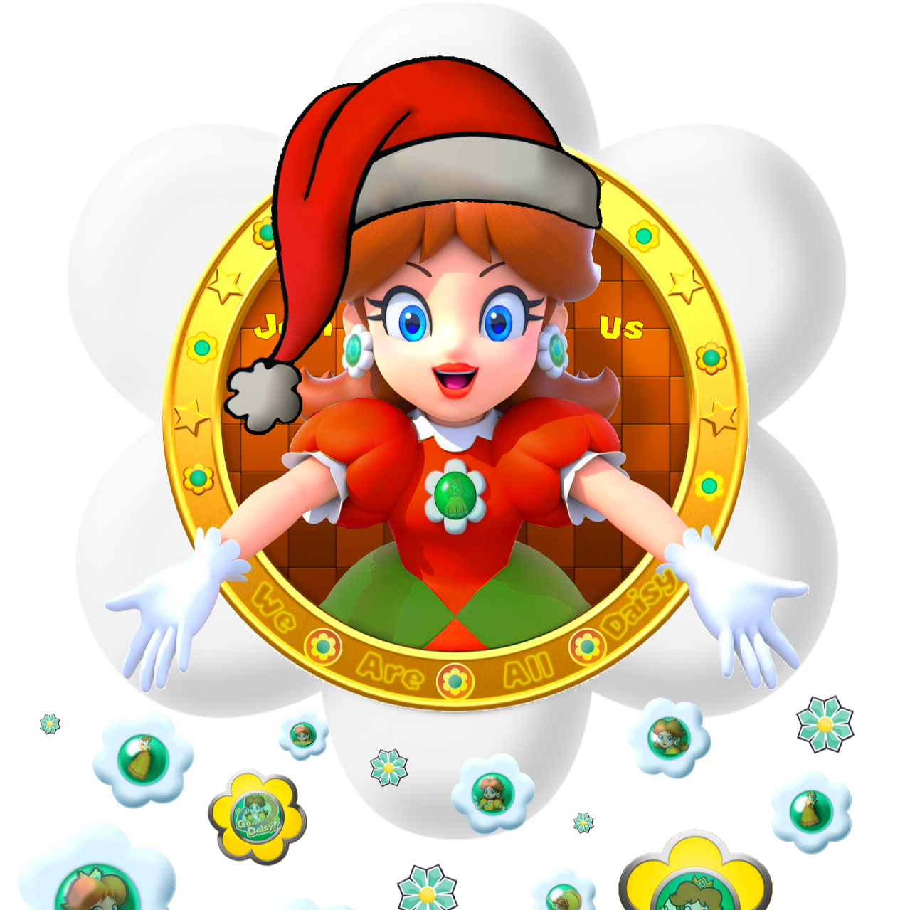 Christmas Mario Png.We Are Daisy Changes Of Skin For December Wearedaisy