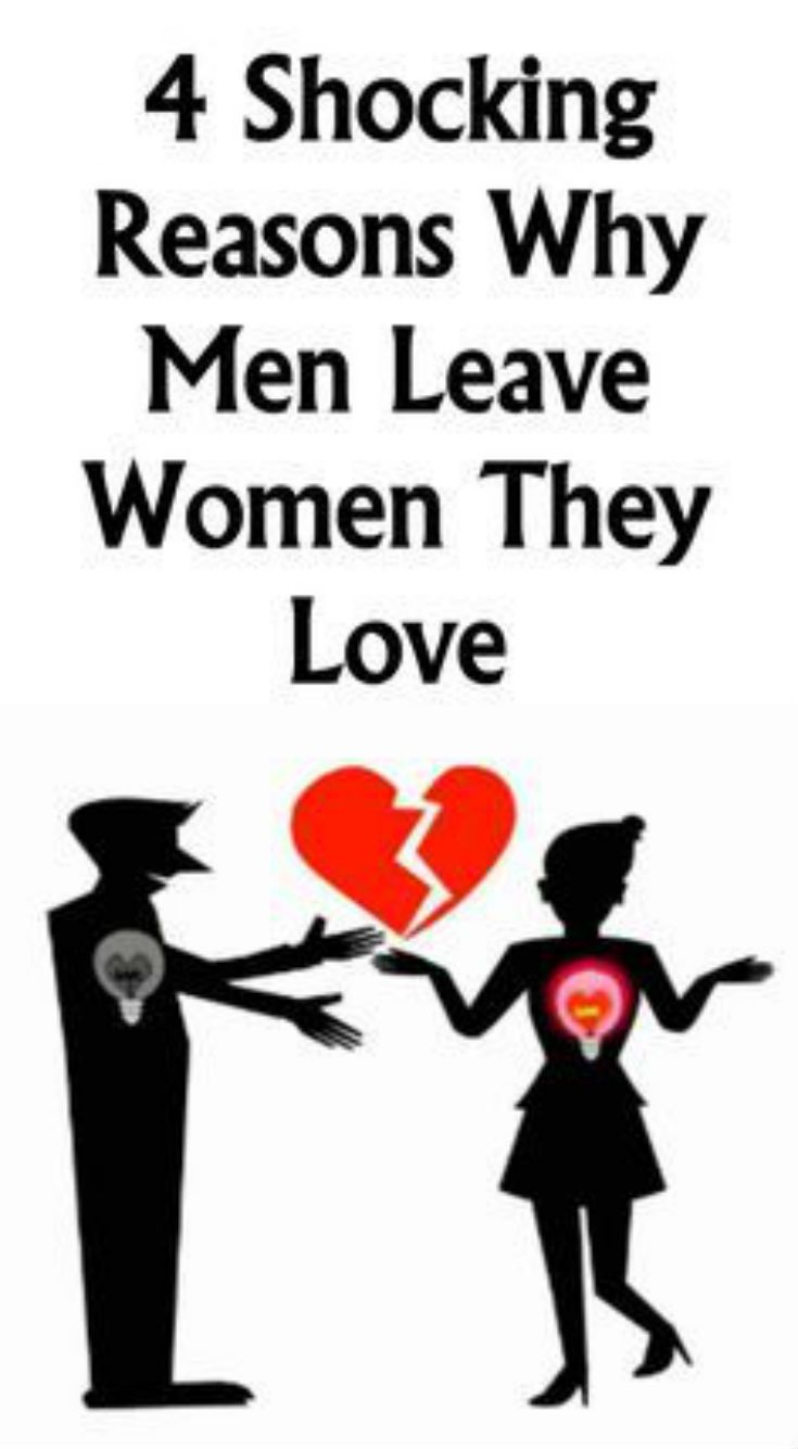 4 Shocking Reasons Why Men Leave Women They Love - In -3394