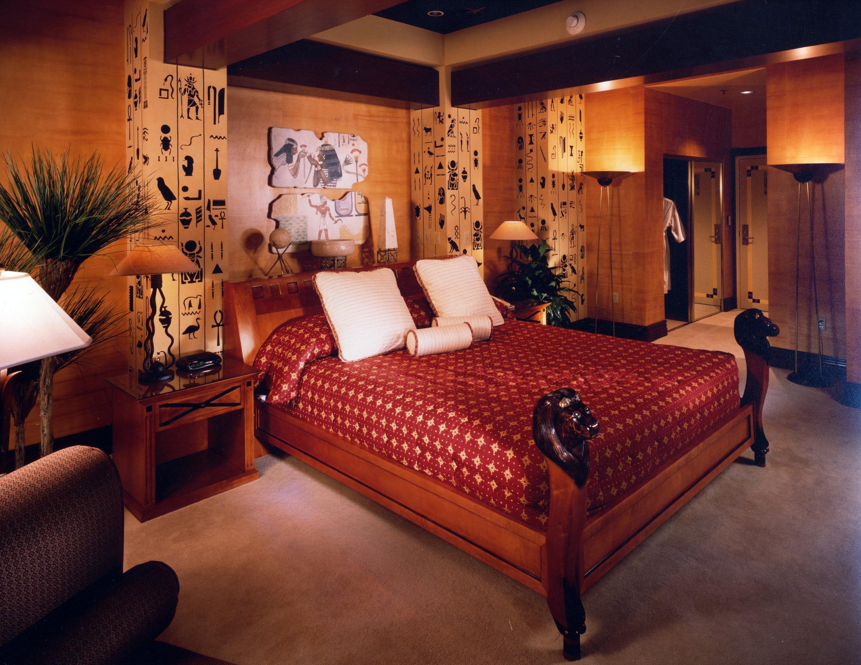 Original King Tut Suite Bedroom 30th Floor