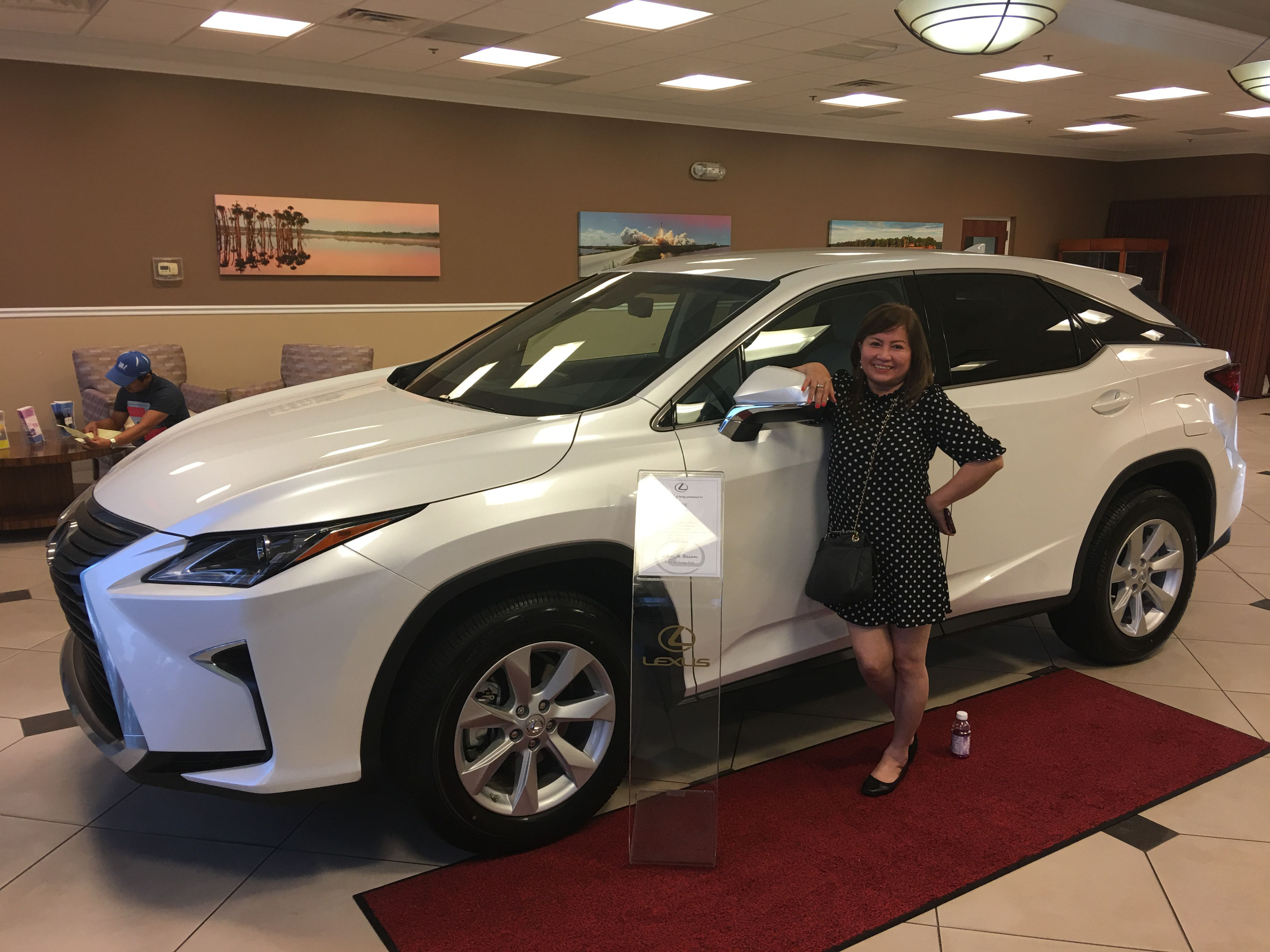 Congratulations To Holly N On The Purchase Of Her 2017 Lexus Rx350 From Our Team Member John At Lexus Of Orange Park Thanks Lexus Orange Park Lexus Dealer