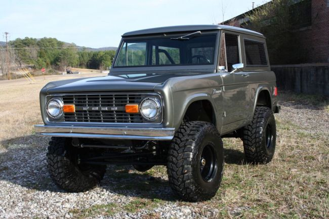 Classicbroncos Com Photo Gallery 1977 Bronco For Sale Early