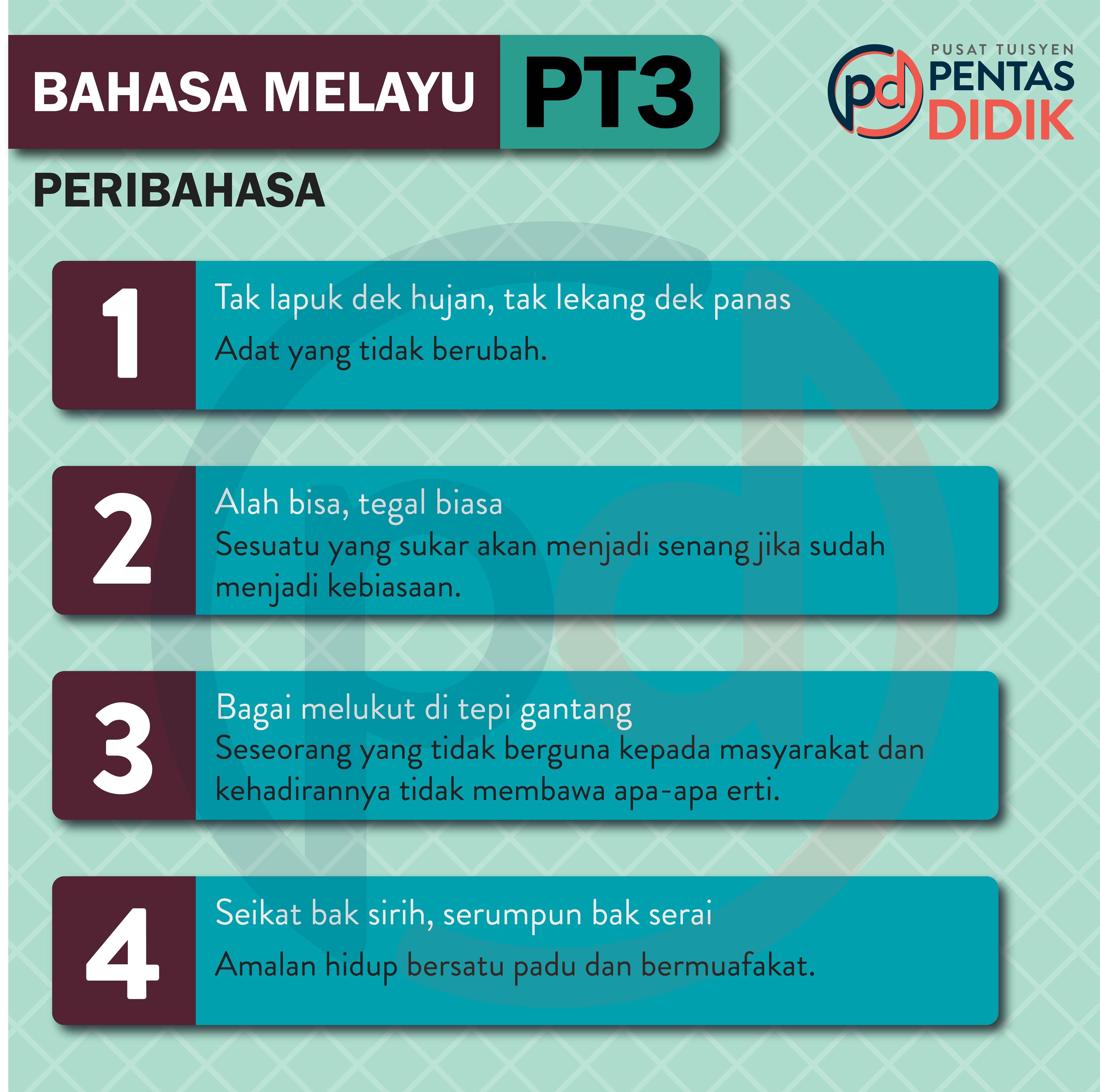 Bahasa Melayu Pt3 Notes
