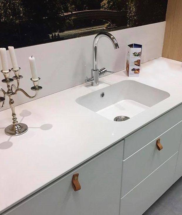 Silestone Arbeitsplatte die moderne küche aus silestone arbeitsplatte und spüle küche