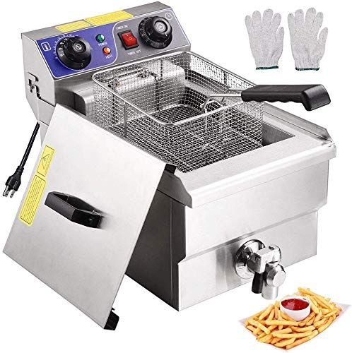 Enjoy Exclusive For Wechef Commercial Electric Large Deep Fryer