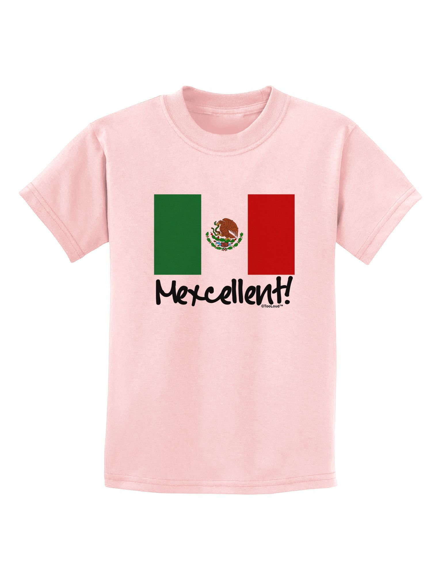 TooLoud Mexican Pride Mexican Flag Infant T-Shirt Dark