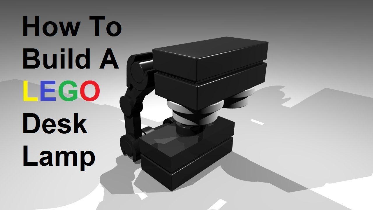 How To Build A Lego Desk Lamp Custom Moc Instructions Lego